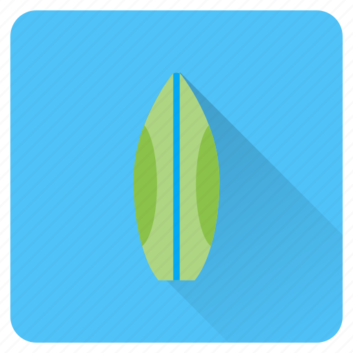 beach, board, summer, surf, surfing, vacation, waves icon