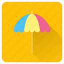 beach, parasol, relax, shade, summer, umbrella, vacation icon