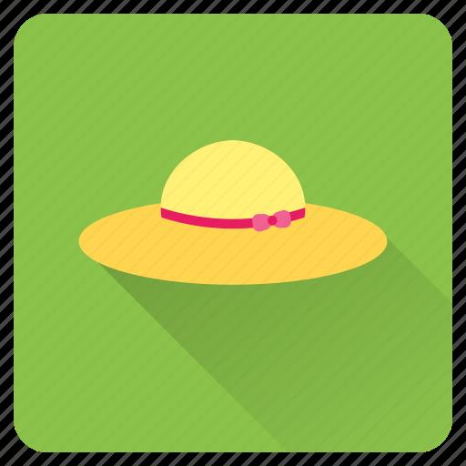 beach, beachwear, hat, headwear, summer, vacation, wear icon