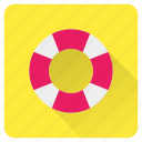 buoy, help, life, safety, summer, support, vacation icon