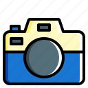 camera, photography, technology, vacation icon