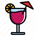 beverage, cocktail, drink, party icon