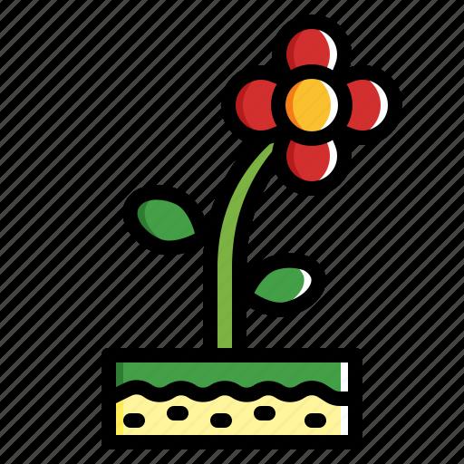 Flower, garden, nature, plant icon - Download on Iconfinder