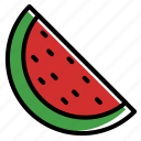 fruit, summer, sweet, watermelon