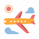 airplane, holiday, journey, plane, transport, travel, vacation icon