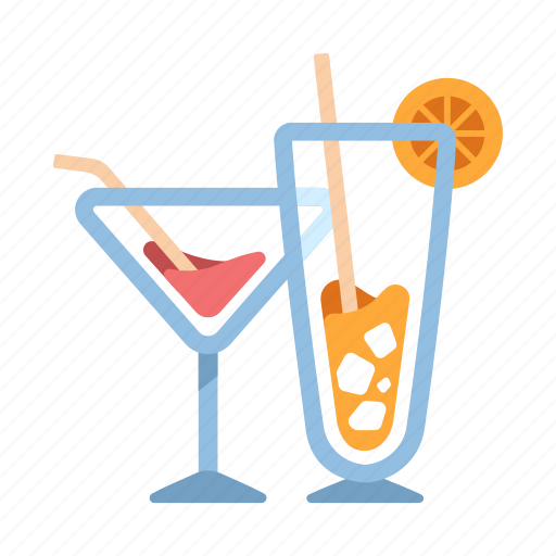 alcohol, beverage, cocktails, drink, party, refreshment, summer icon