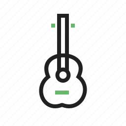 cords, equipment, guitar, musical, play, sing icon