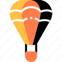 adventure, airship, balloon, hot, sky, transport, transportation icon