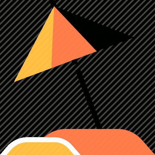 Beach, summer, sun, travel, umbrella, vacation icon - Download on Iconfinder