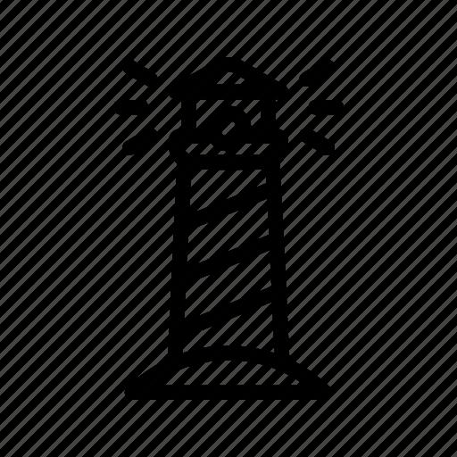 lighthouse, sea icon