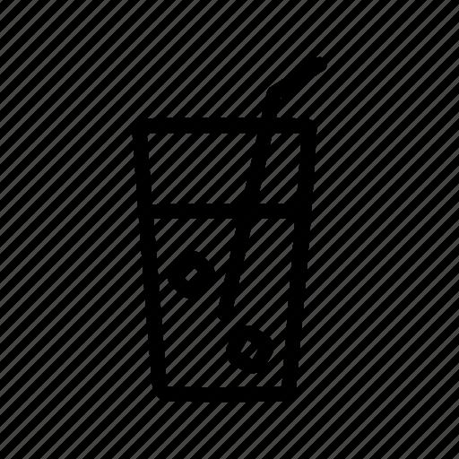 drinking, ice, soda icon
