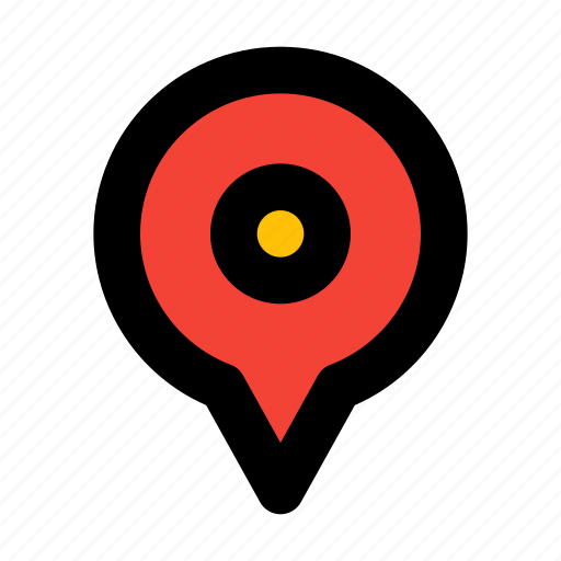 Pin, location, map, marker icon - Download on Iconfinder