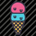 summer, requisite, necessity, icecream