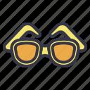 summer, requisite, necessity, sunglass, glasses