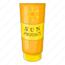 lotion, protection, summer, sun icon