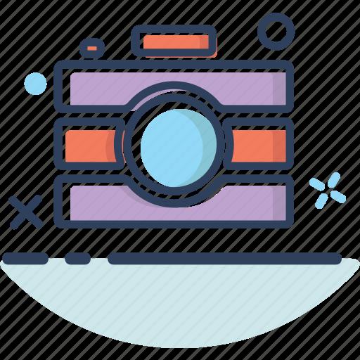 camera, camera icon, image, photo, photography, picture, summer icon