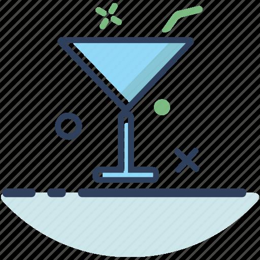 beach, beverage, drink, glass, summer, travel, vacation icon