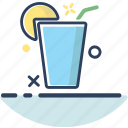 beach, beverage, drink, drink icon, lemonade, summer, vacation icon