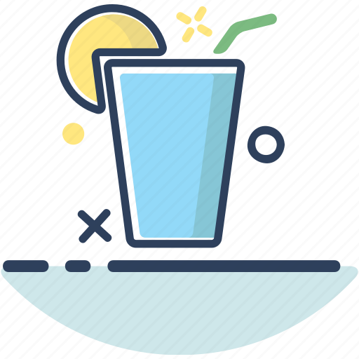 beach, beverage, drink, drink icon, lemonade, summer, vacation icon