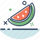 food, fruit, healthy, summer, sweet, watermelon, watermelon icon