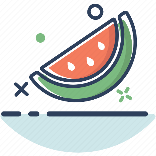 food, fruit, healthy, summer, sweet, watermelon, watermelon icon icon