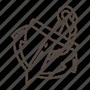 ship, anchor, rope, boat, sea, beach