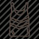sleveless, shirt, clothes, fashion, clothing