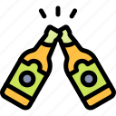 cheers, fun, party, summer icon