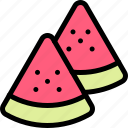 fun, party, summer, watermelon icon