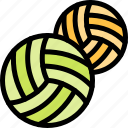 ball, fun, party, summer, volley icon