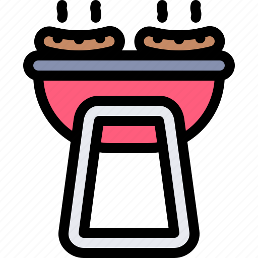bbq, fun, party, summer icon