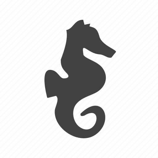 animal, marine, ocean, sea, sea animal, sea horse, swim icon