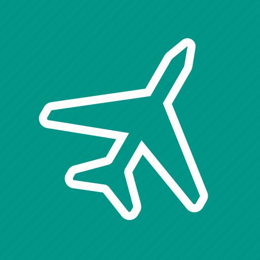 aeroplane, air support, airplane, flight, journey, plane, traveling icon