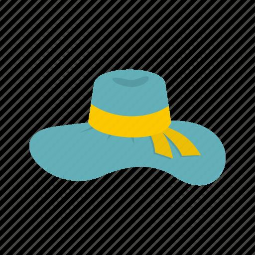 accessory, hat, logo, straw, summer, sun, woman hat icon