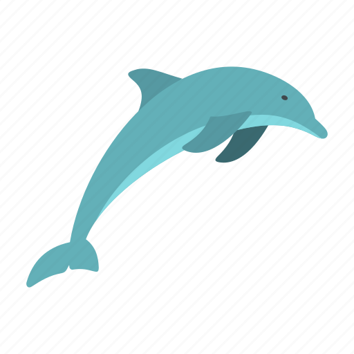 aquatic, dolphin, friendship, life, logo, mammal, swim icon