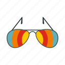 beach, eye, fashion, logo, summer, sunglasses, wear icon