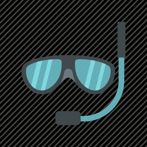 logo, mask, snorkel, snorkeling, swimming mask, travel, underwater icon