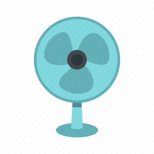 cooler, flow, logo, propeller, rotation, turbine, ventilator icon
