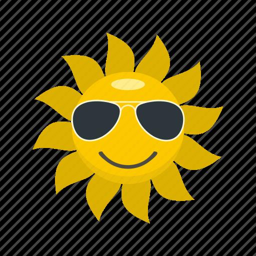 glare, glow, heat, light, logo, sun, sunlight icon