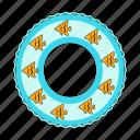 accessory, beach, lifebuoy, recreation, rest, summer icon