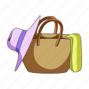 accessory, luggage, recreation, rest, summer, things, travel icon