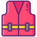 jacket, life, safety, vest