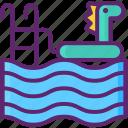 float, kids, pool, swimming