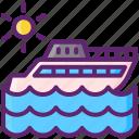 boat, ship, yacht
