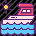 sea, ship, yacht