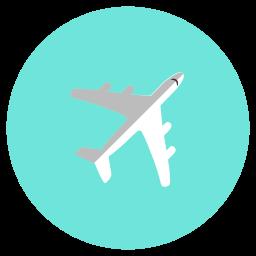 air, aircraft, airplane, flight, transportation icon