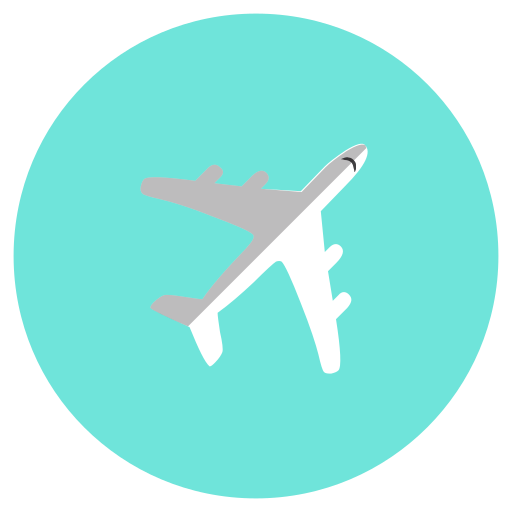 air, aircraft, airplane, flight, transportation icon