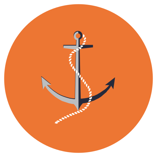 Anchor, boat, marine, nautical icon - Free download