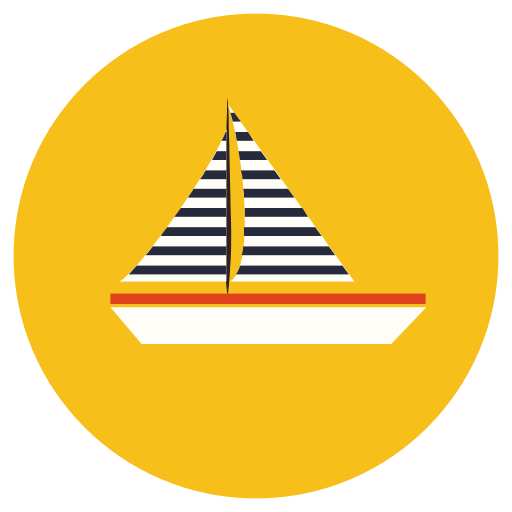 Boat, sail, sailing, water, yacht icon - Free download
