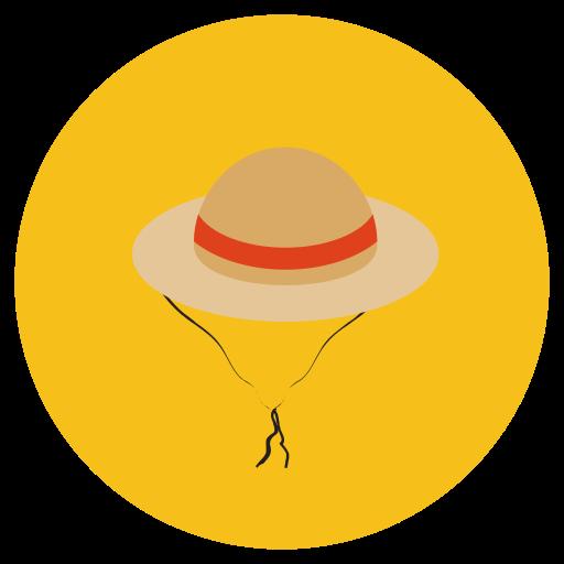 Hat, cook, cap icon